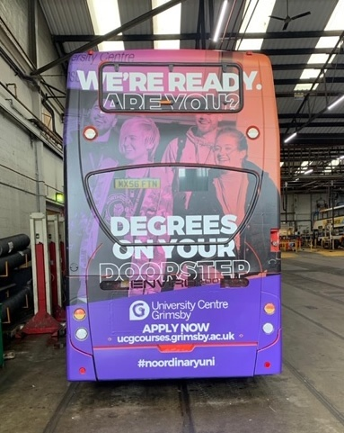 Bus Advertising - Media Planning & Buying Specialists - Double Deck Mega Rears