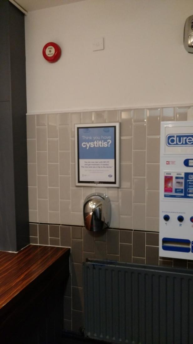 Washroom Advertising - Media Planning & Buying Specialists -