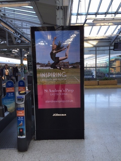 Rail Station Advertising - Media Planning & Buying Specialists -